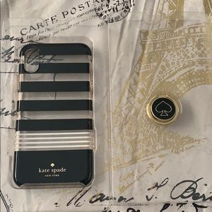Kate spare iPhone X ring case
